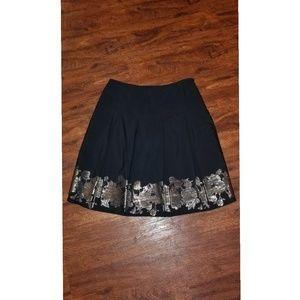 ❤NWOT❤Thahri black skirt